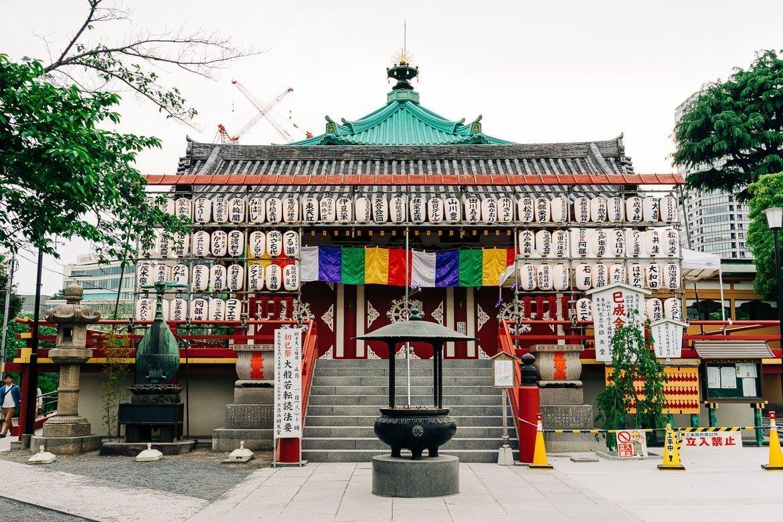 Local Tokyo Temple