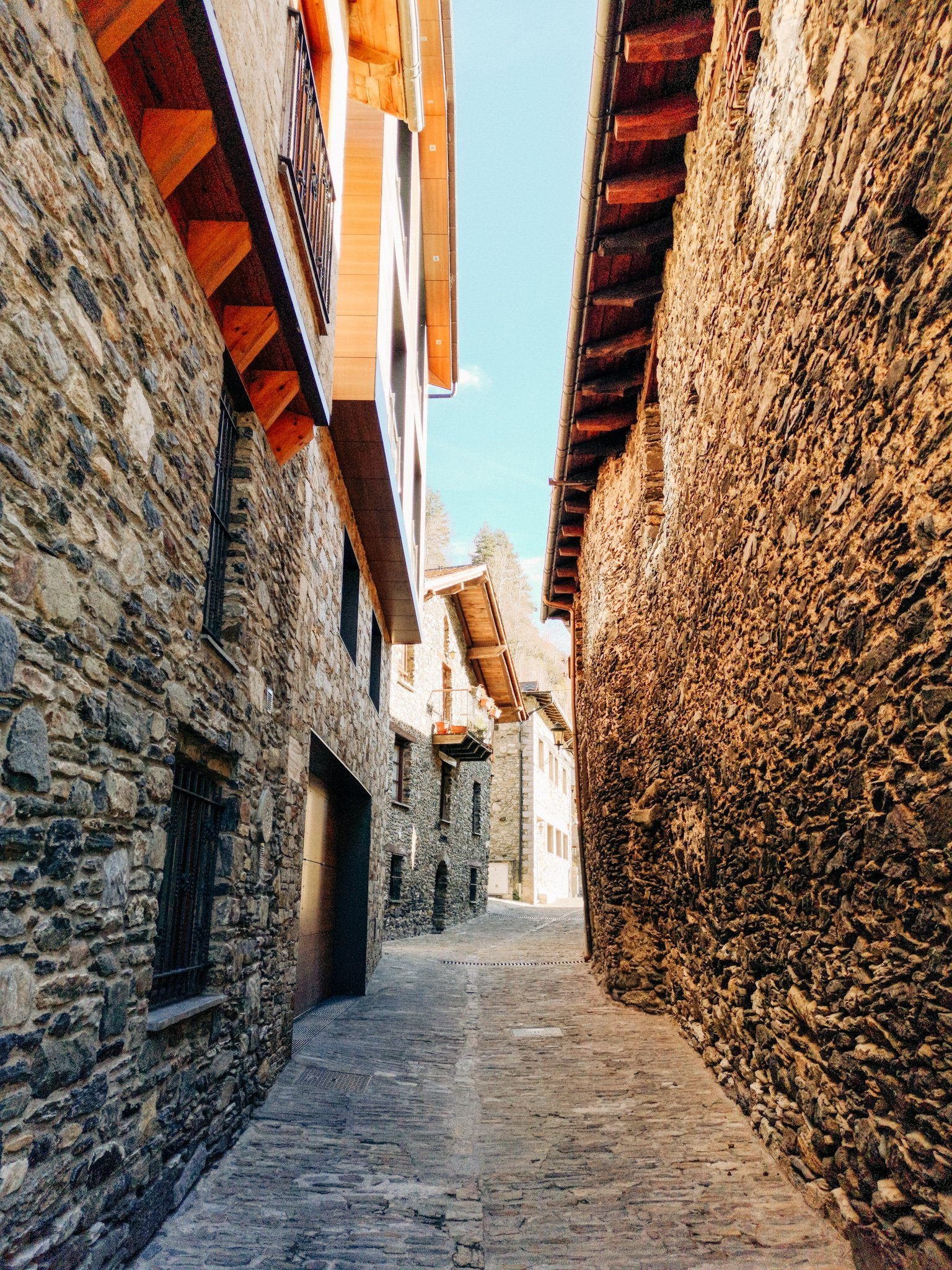 Stone Houses in Andorra