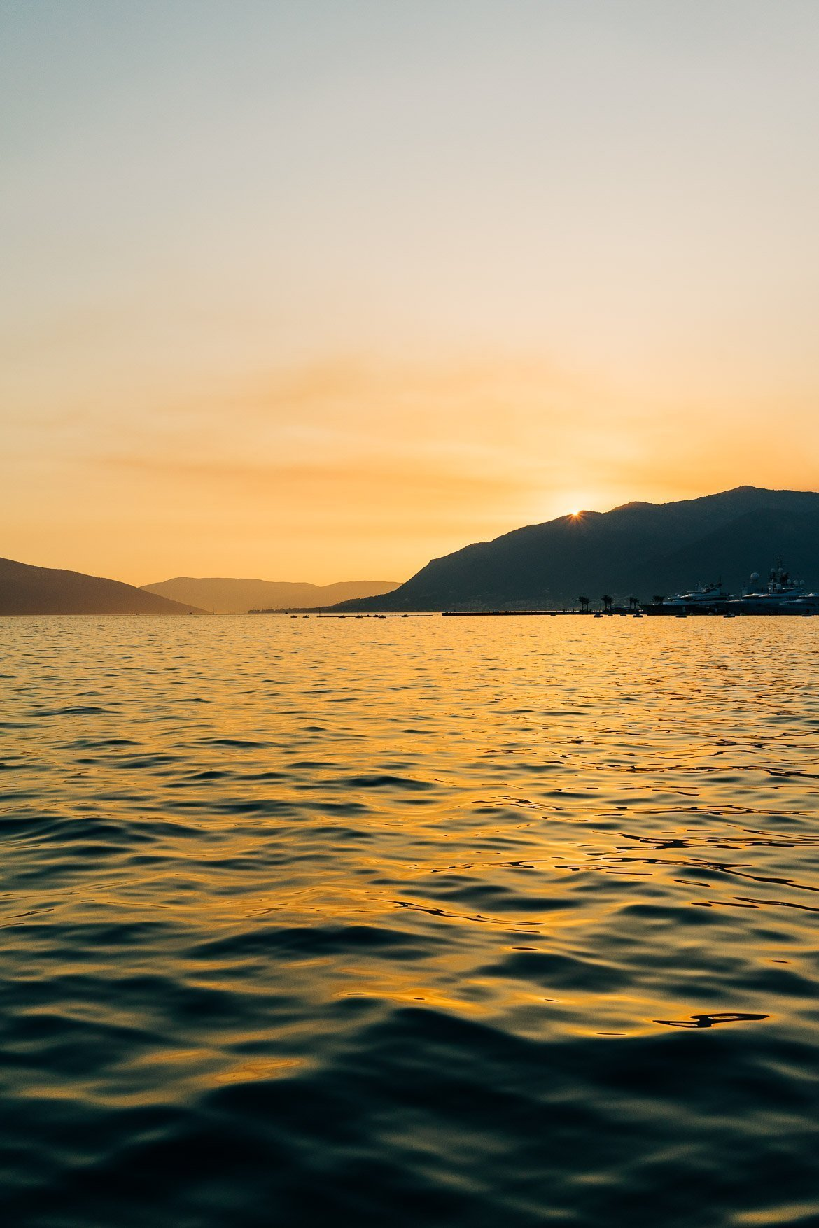 Bay of Kotor Sunset