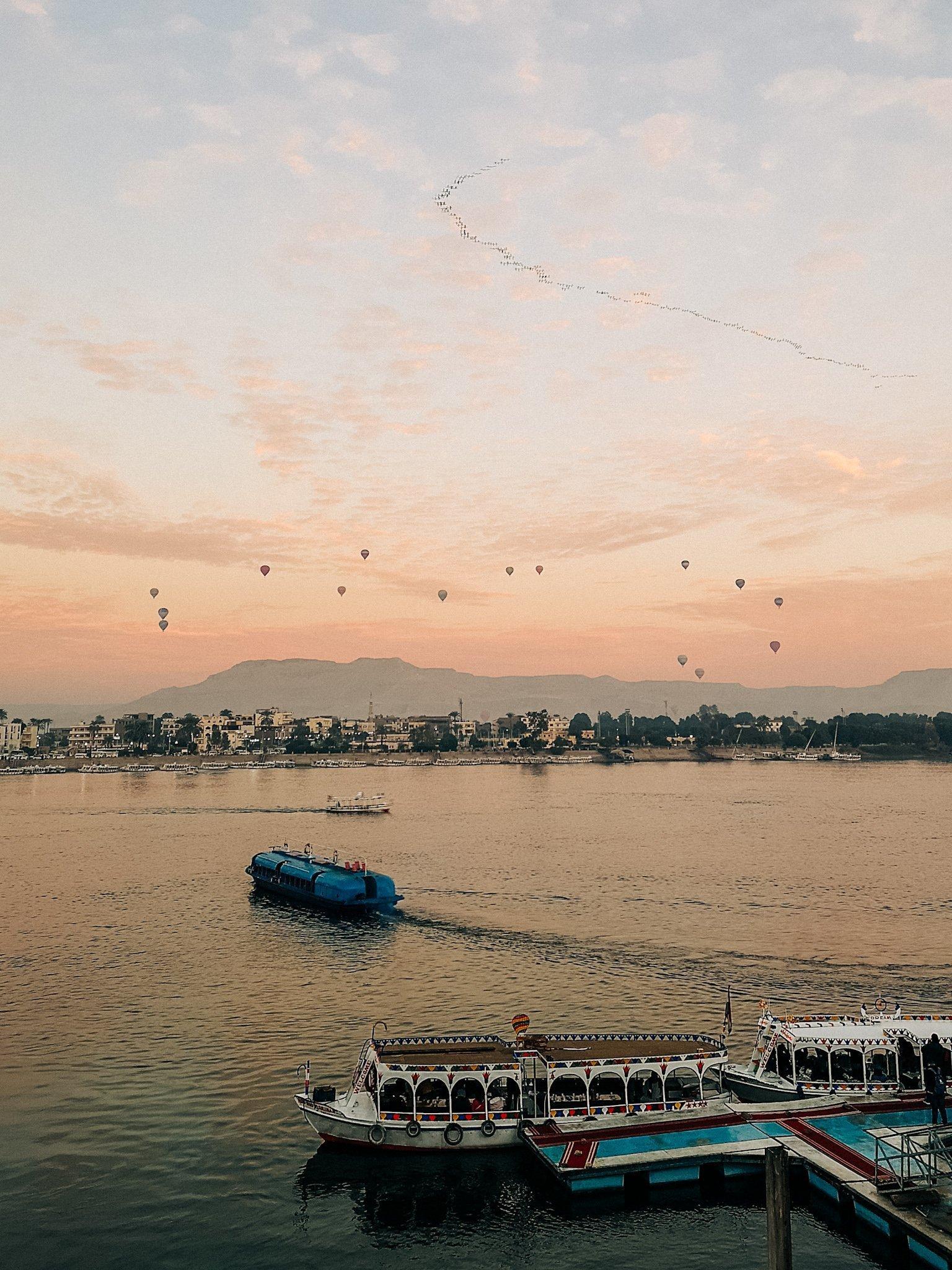 Hot Air Balloons Luxor