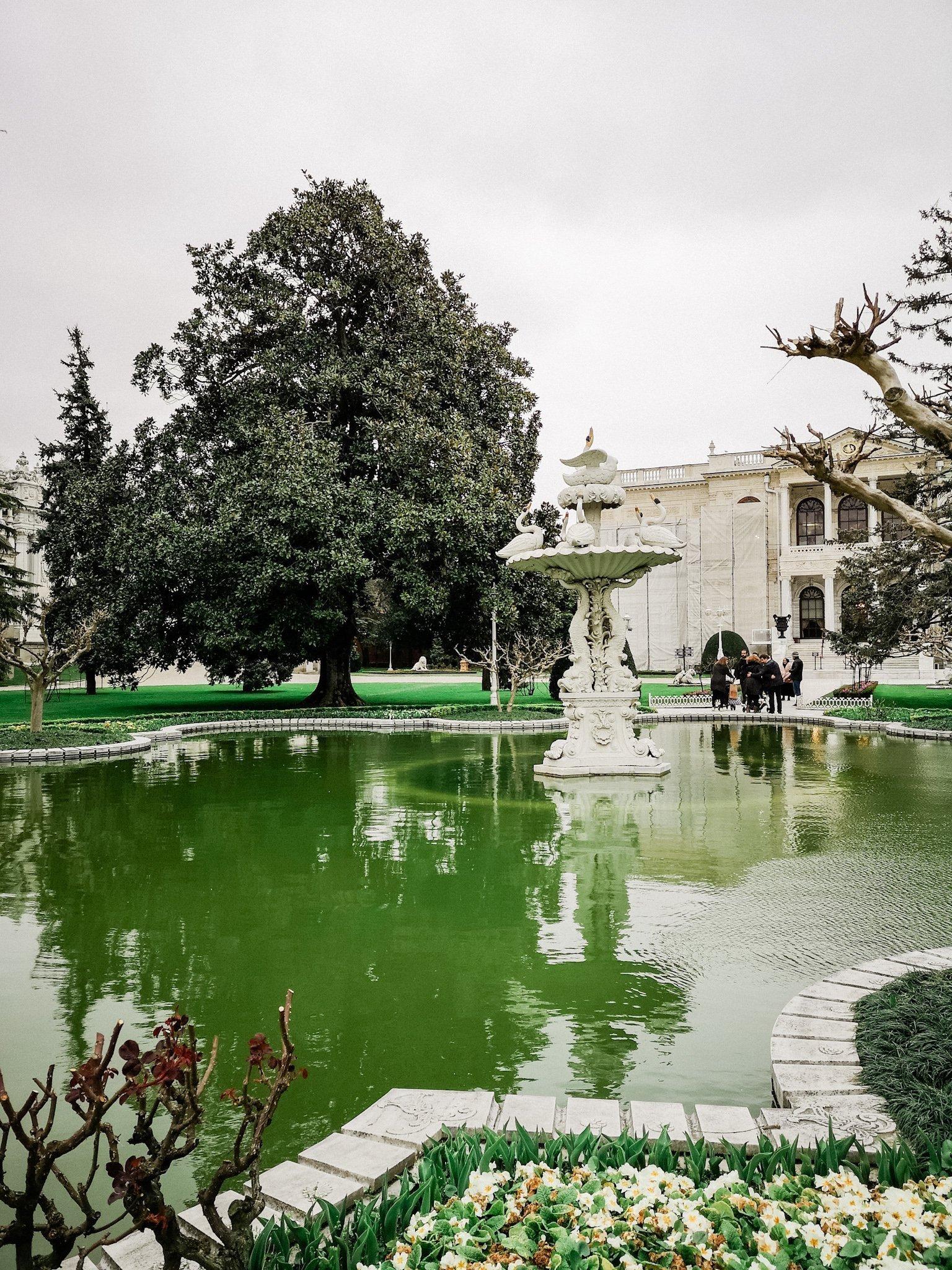 Dolmabahçe Palace Gardens