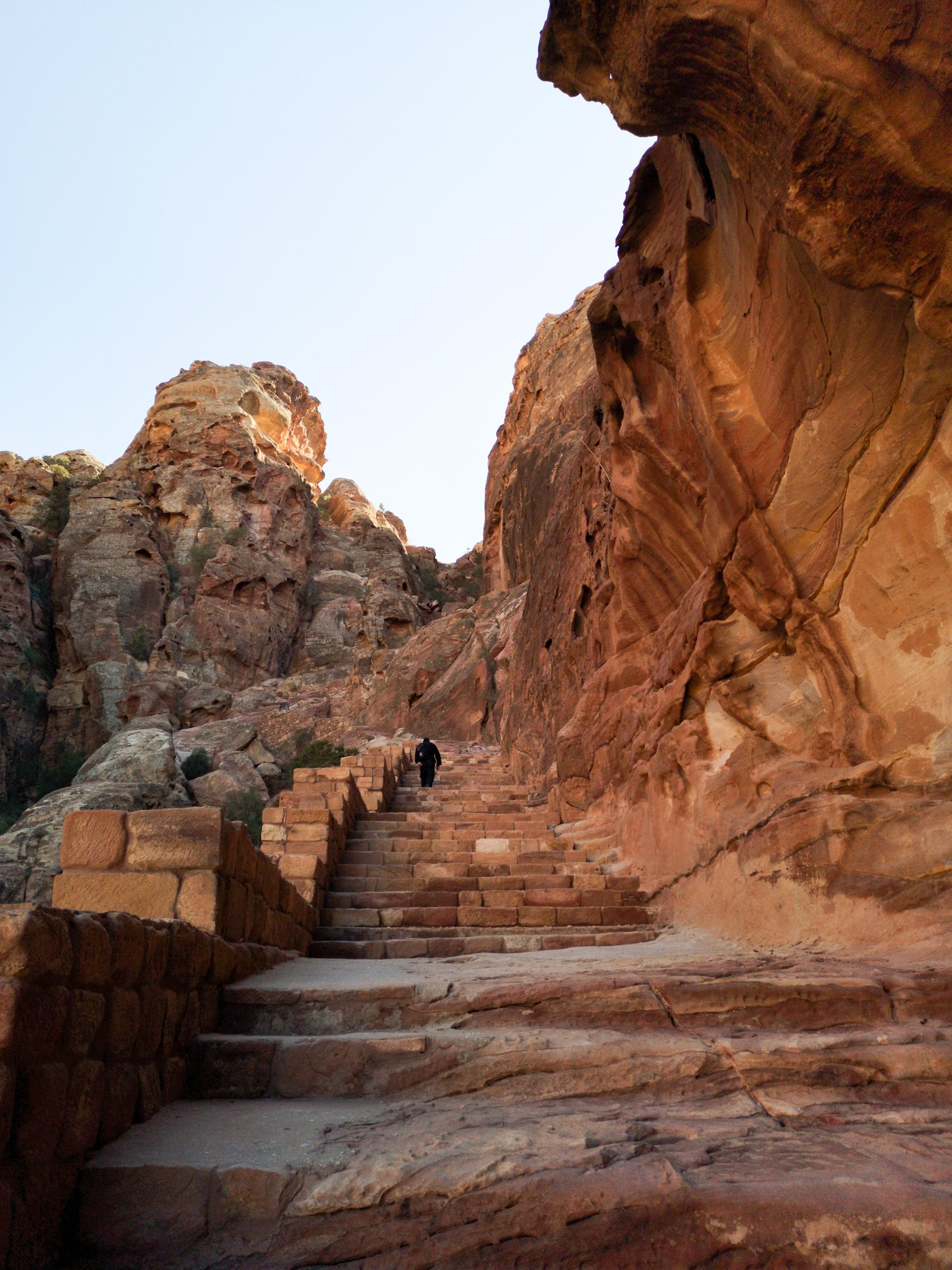 Petra Path to Treasury Overlook