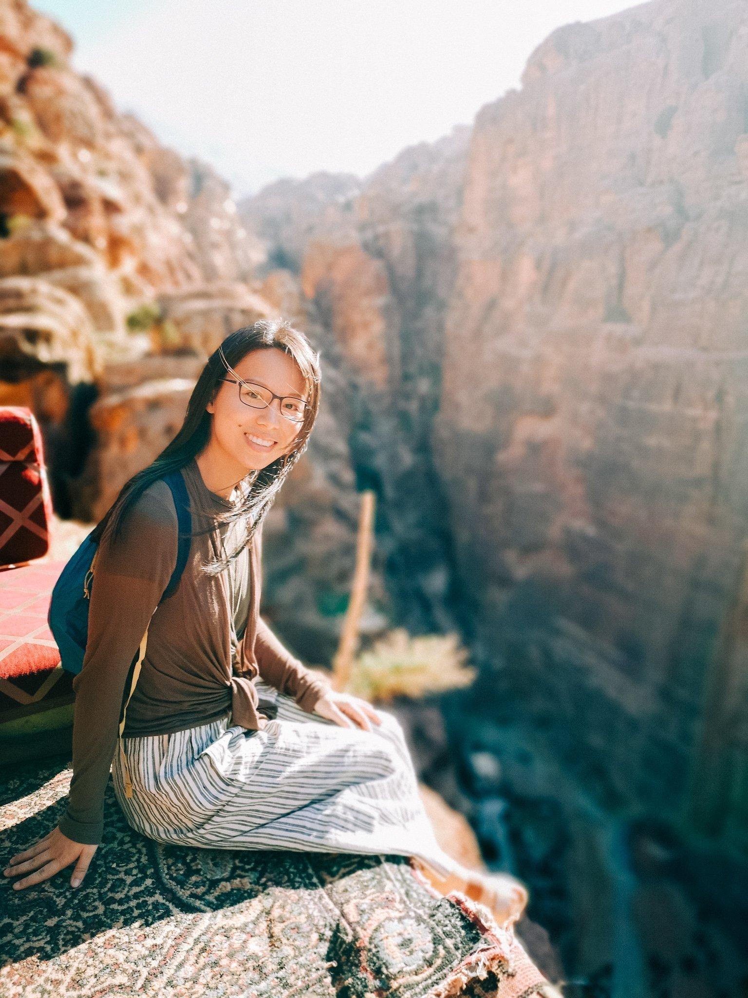 Petra Treasury Overlook