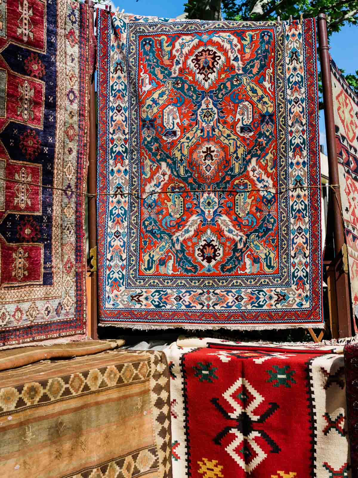 Armenian Dragon Design Rug