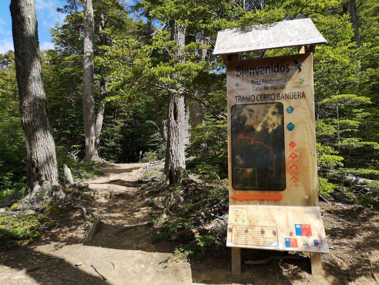 Cerro Bandera Trailhead