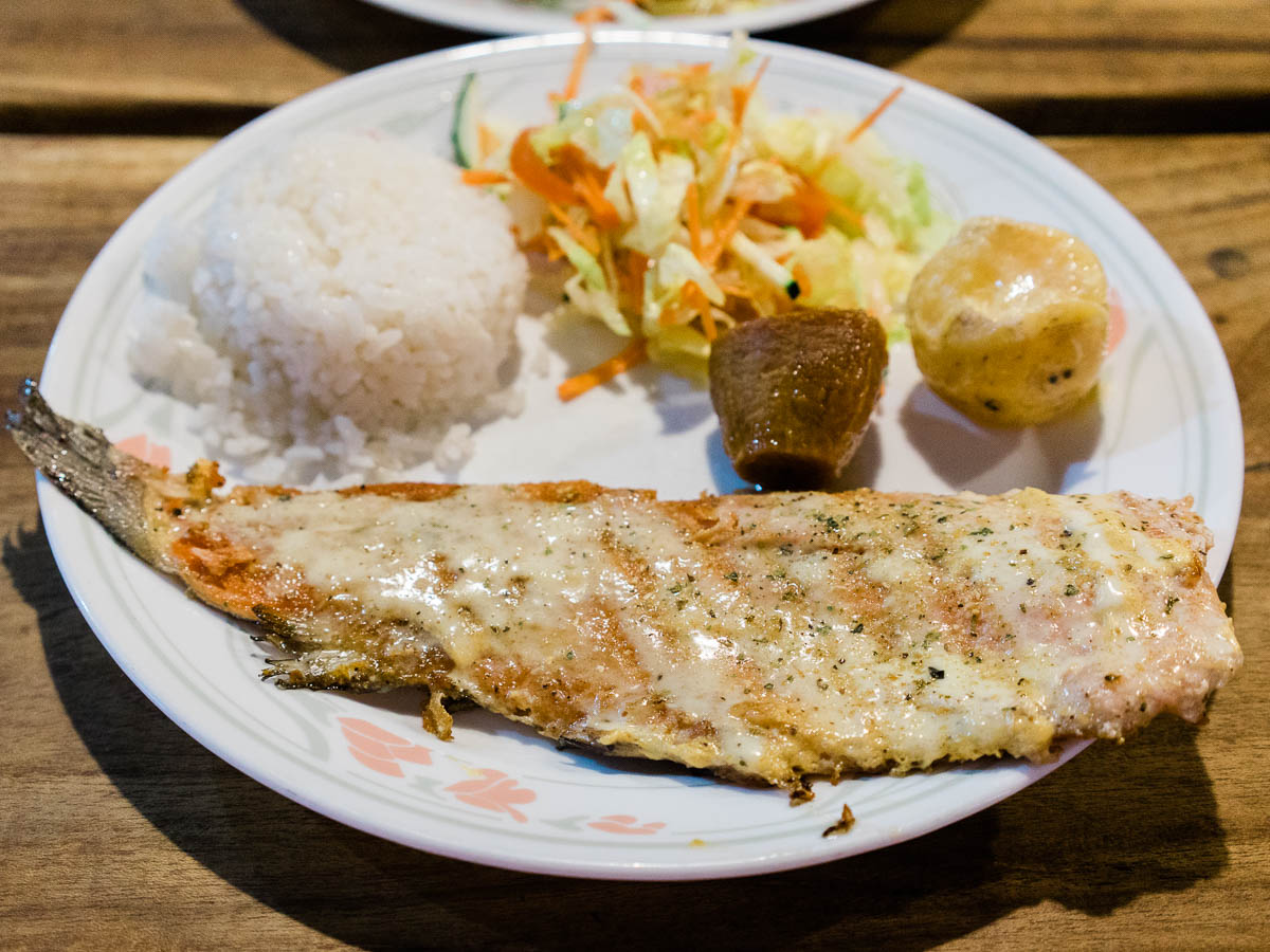 Trout Plate in Salento, Colombia