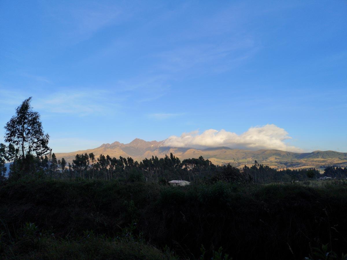 Cotopaxi Region Ecuador