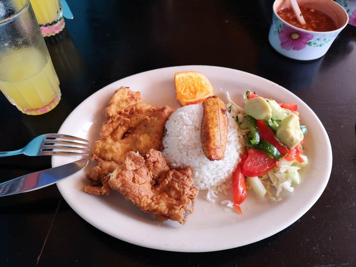 Puerto Ayora Galapagos Lunch