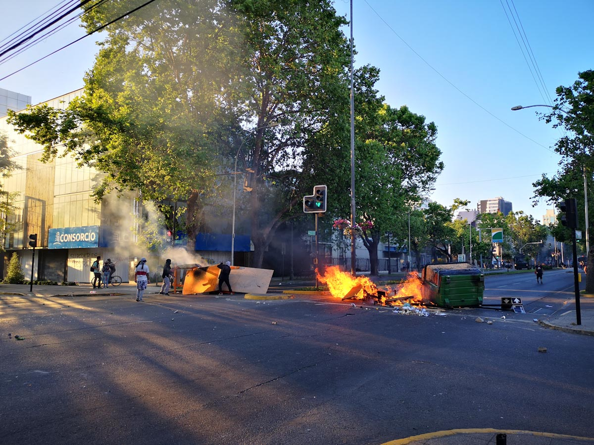 Protests in Vina del Mar