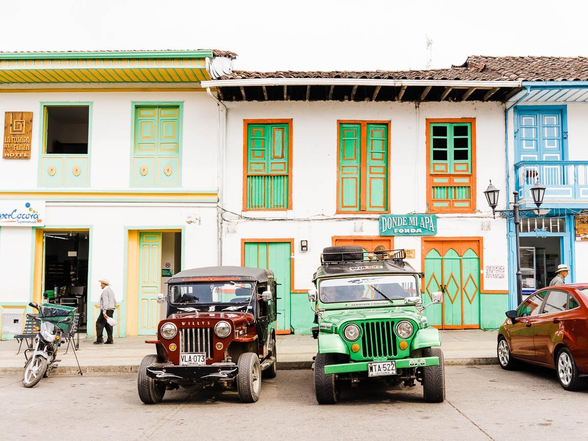 Salento Jeeps to Cocora Valley