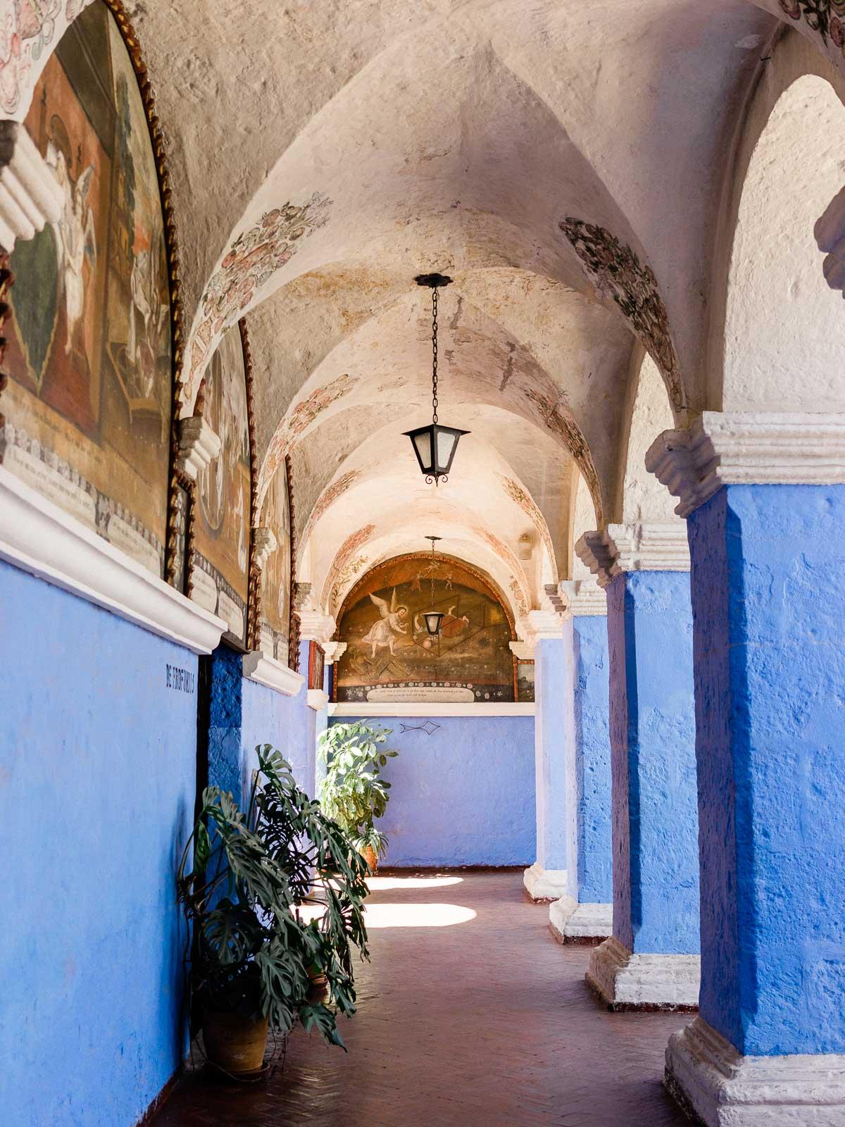 Santa Catalina Monastery in Arequipa
