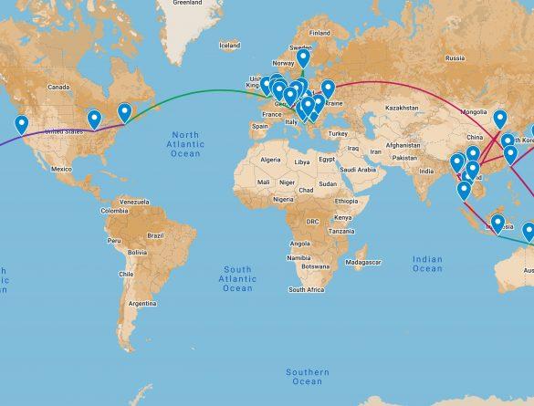 13 Month World Trip